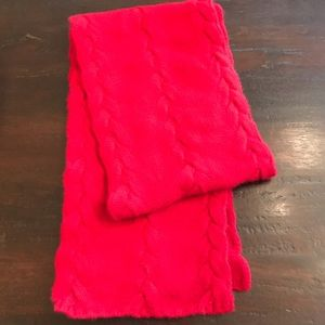 NWOT Nordstrom Red Cashmere Scarf